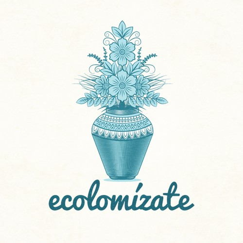 """ECOLOMÍZATE: Creación de un logo para compañía """"verde"""" de diseño :D"""