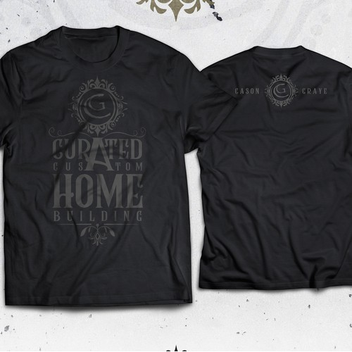 Tshirt design - Curated Custom Home Building