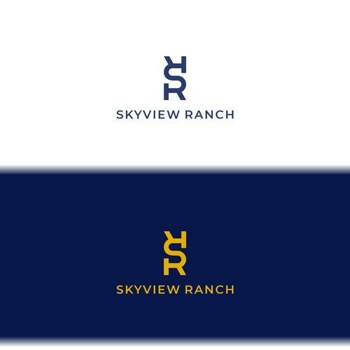 Logo concept for Skyview Ranch