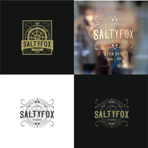 Vintage logo for clothing brand