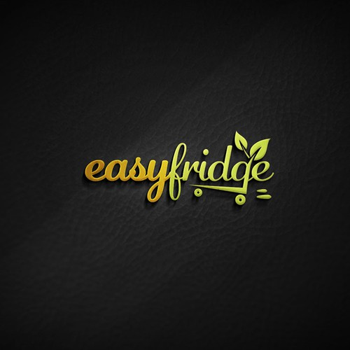 Friendly logo design for Easy Fridge