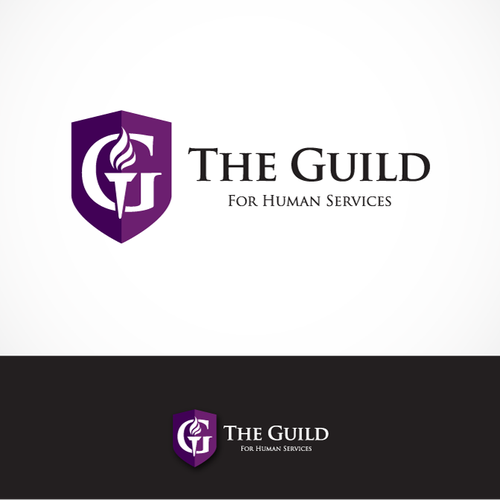 remake a logo for the guild human services