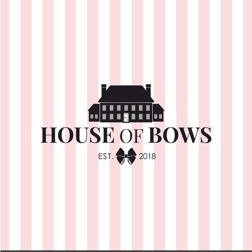 Logo design for House of Bows