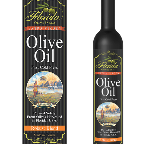 Florida Olive Farms Label