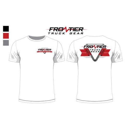 Frontier Truck Gear Tee Shirt Design - All ideas welcome!
