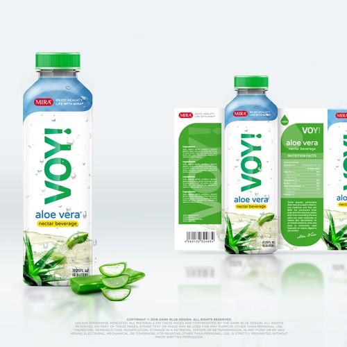 VOY! Aloe vera nectar beverage