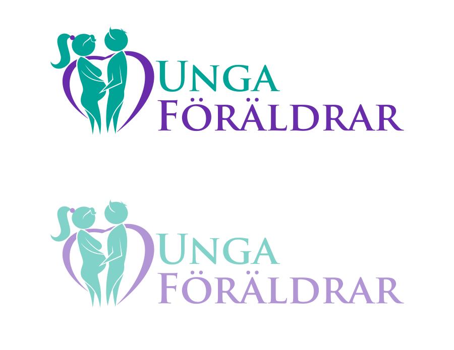 logo for Unga Föräldrar