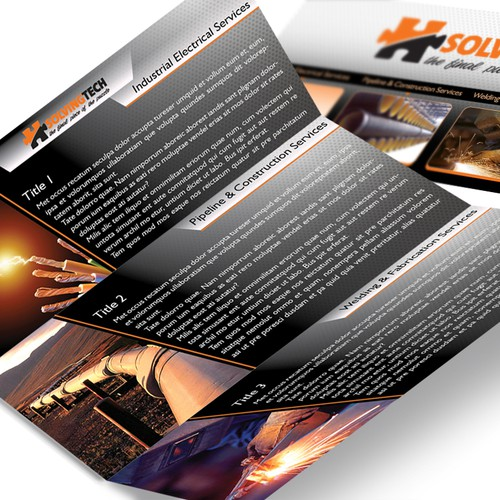 brochure design for SolvingTech Inc
