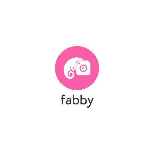 Fabby selfie app logo