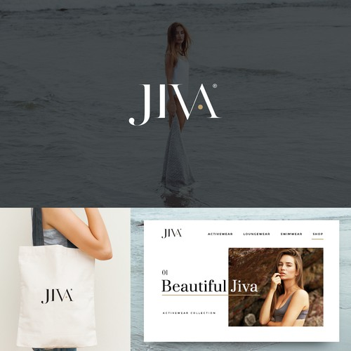 Concept for Jiva active and swimwear