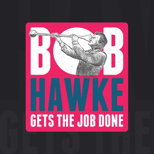 Bob Hawke illustration