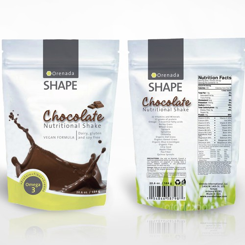 Weight Loss Program Packaging Design
