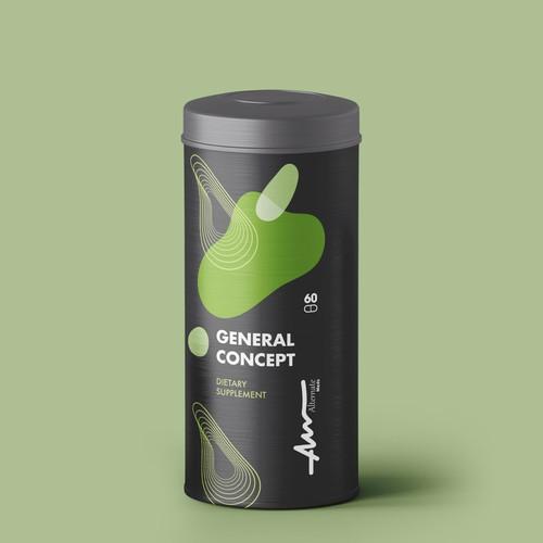 Vitamin supplement Packaging