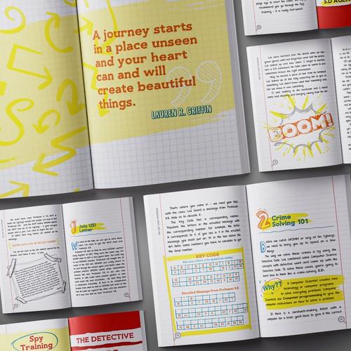 Book interior layout