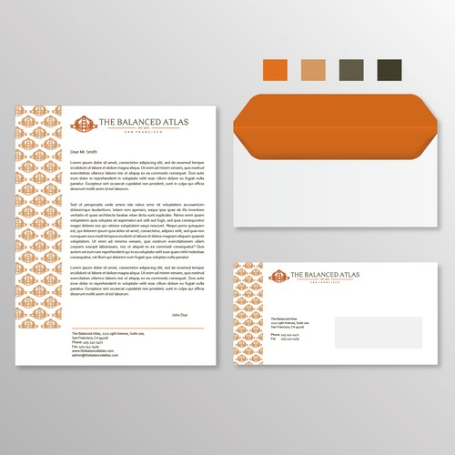Modern Medical Office Stationary