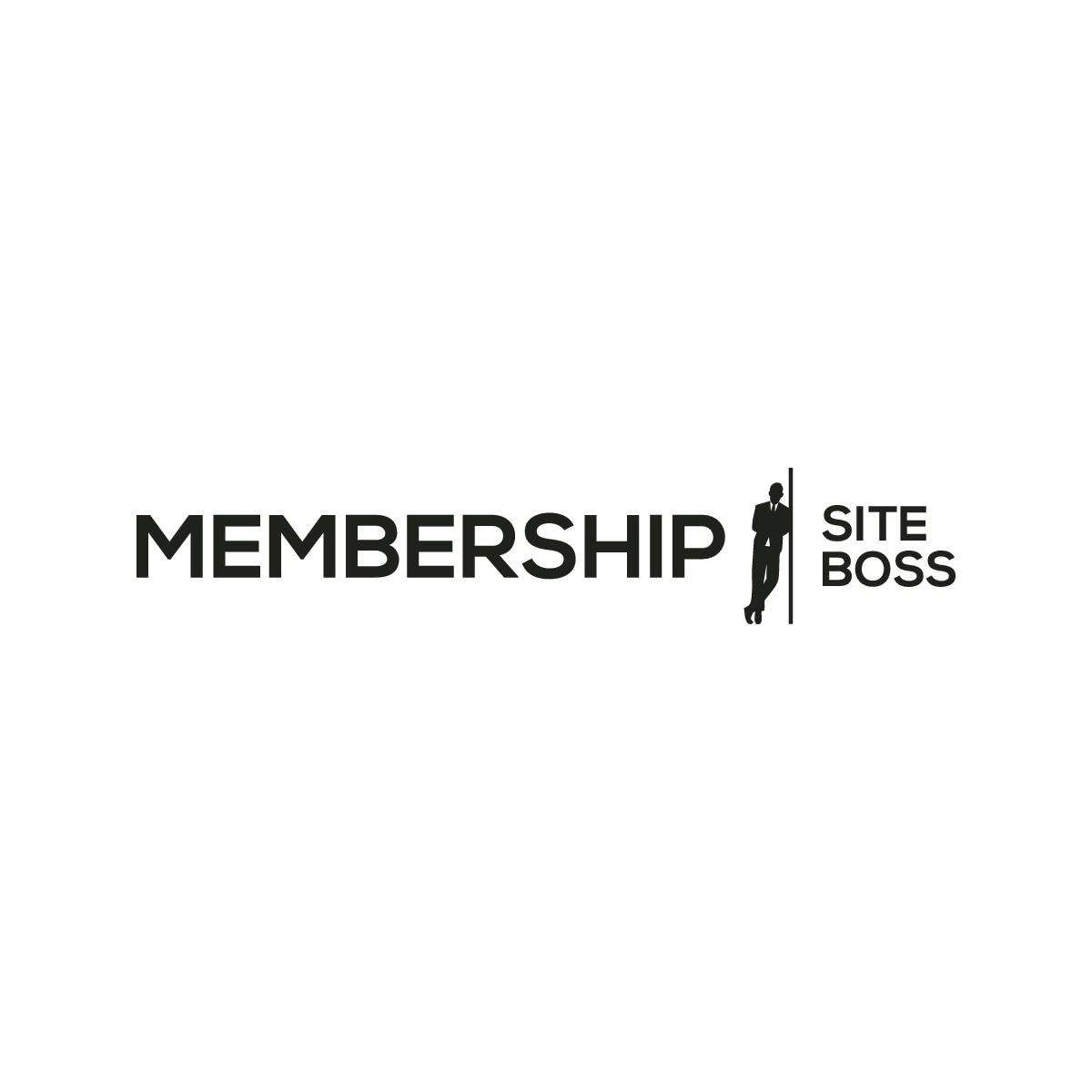 Create a sophisticated logo for MembershipSiteBoss.com