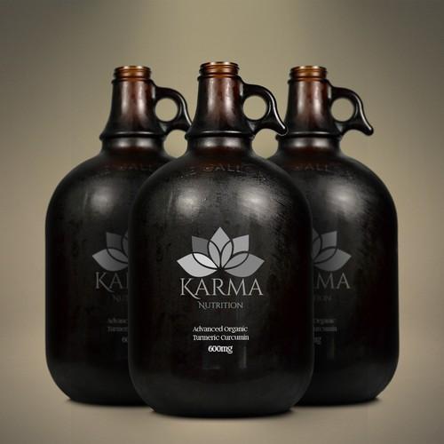 Label Design for Karma Nutrition