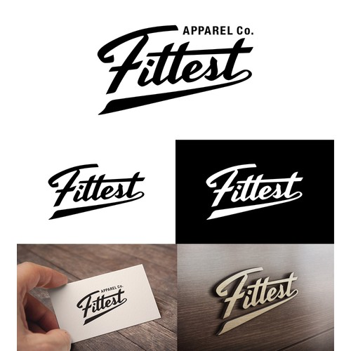 Fittest Apparel Co. Logo Design