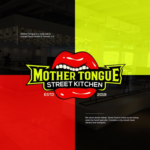 Funky Logo Mother Tongue