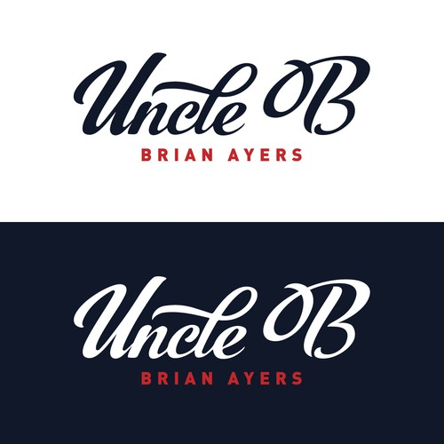 Uncle B logo design
