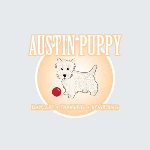 Logo for doggy daycare