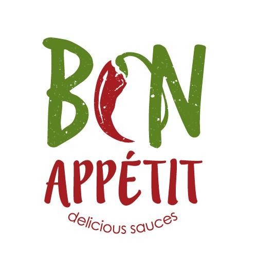 Logo design for delicious sauces