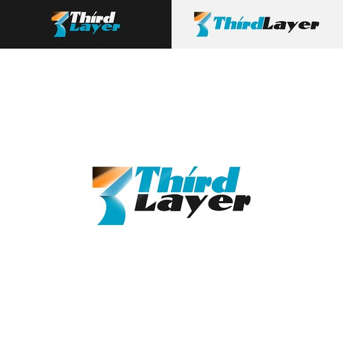 """Clean and Bold logo concept for New Company, """"Third Layer""""."""