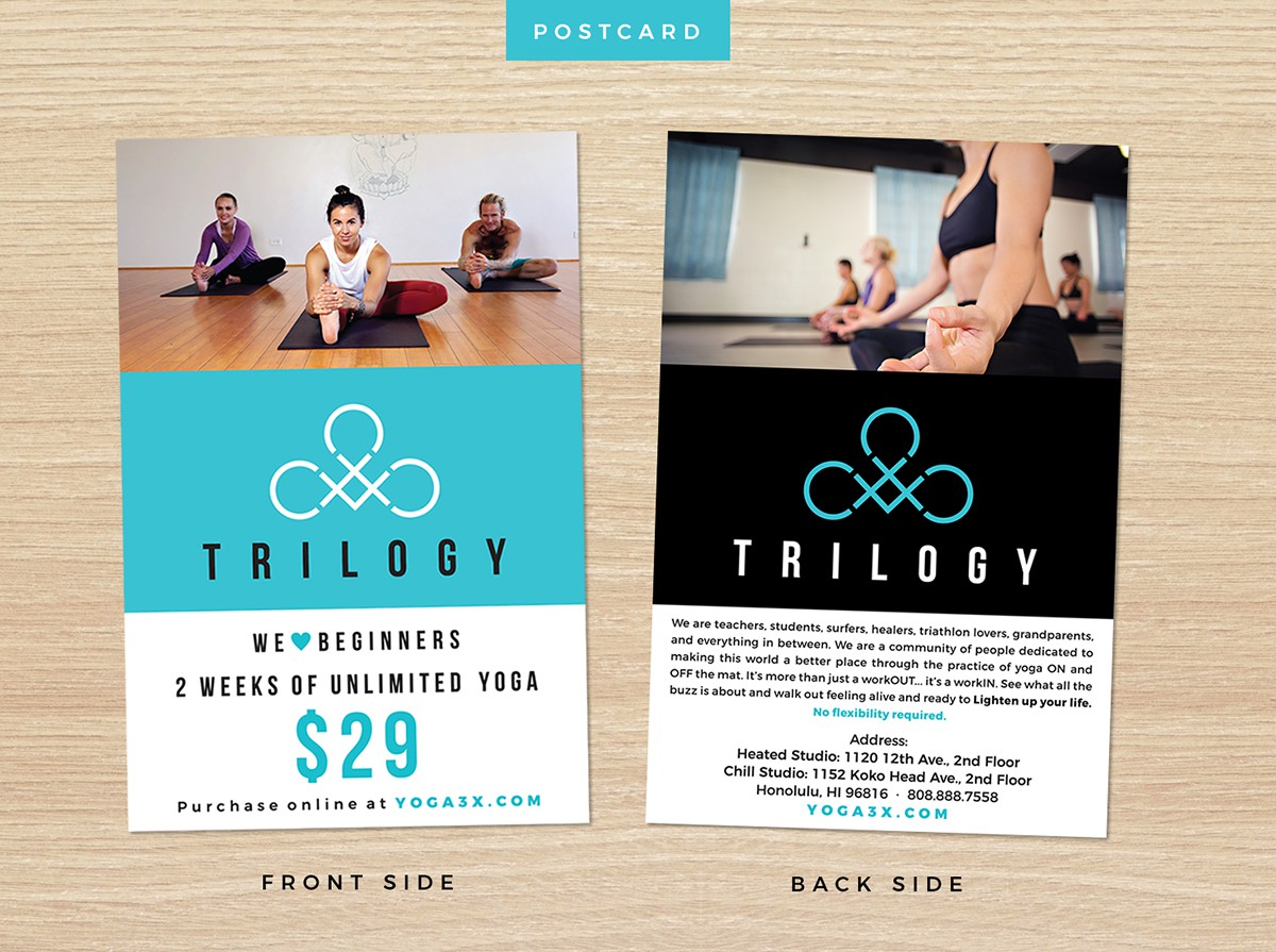 Postcard design (2 sided), Signicade poster design (2sided)