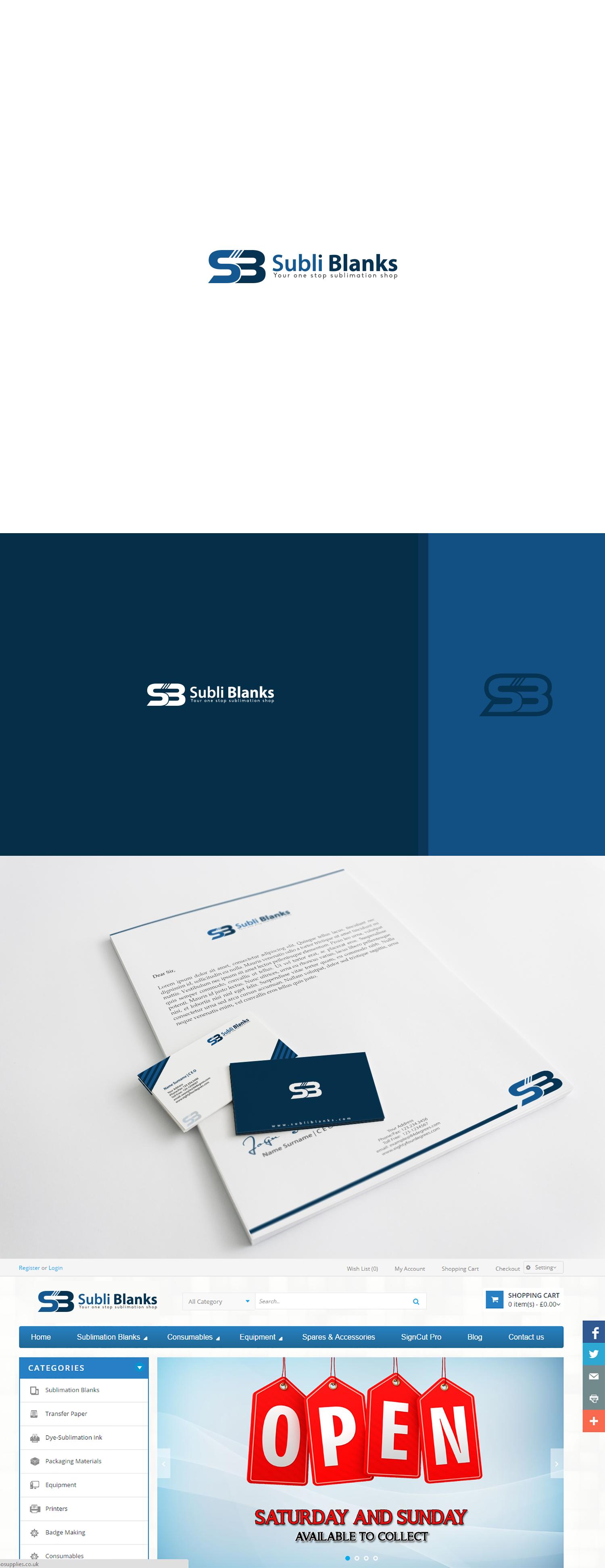 Create  professional impressive logo for printing supply company