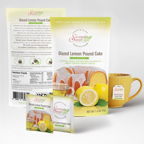 packaging for flavored tea