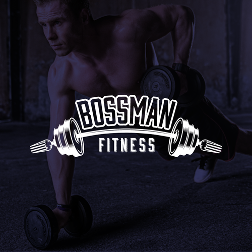 Fitness and nutrition logo