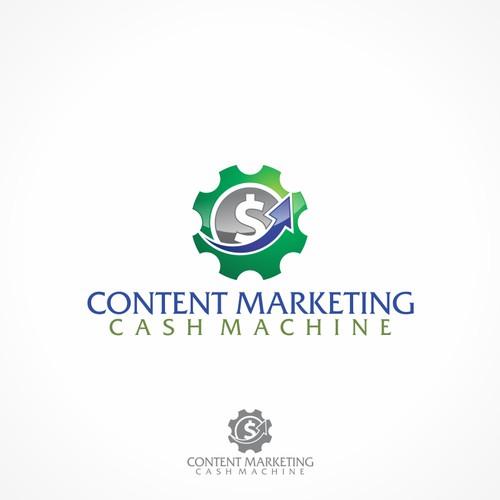 logo for Content Marketing Cash Machine