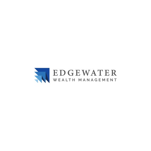 Dynamic logo concept for Edgewater Wealth Management