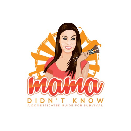 Design a powerful logo for Mama Didn't Know