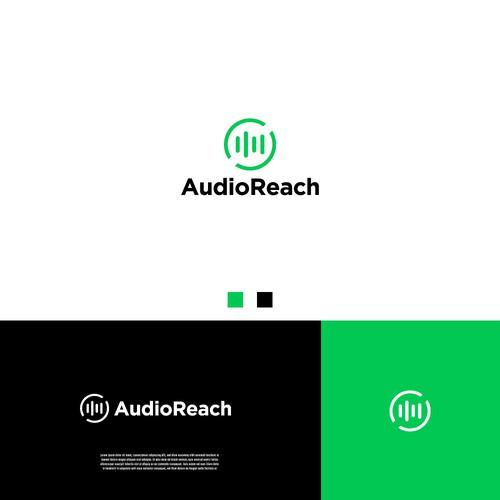 Minimal Logo Design for AudioReach
