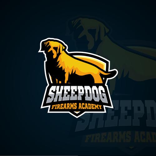 sheepdog logo concept