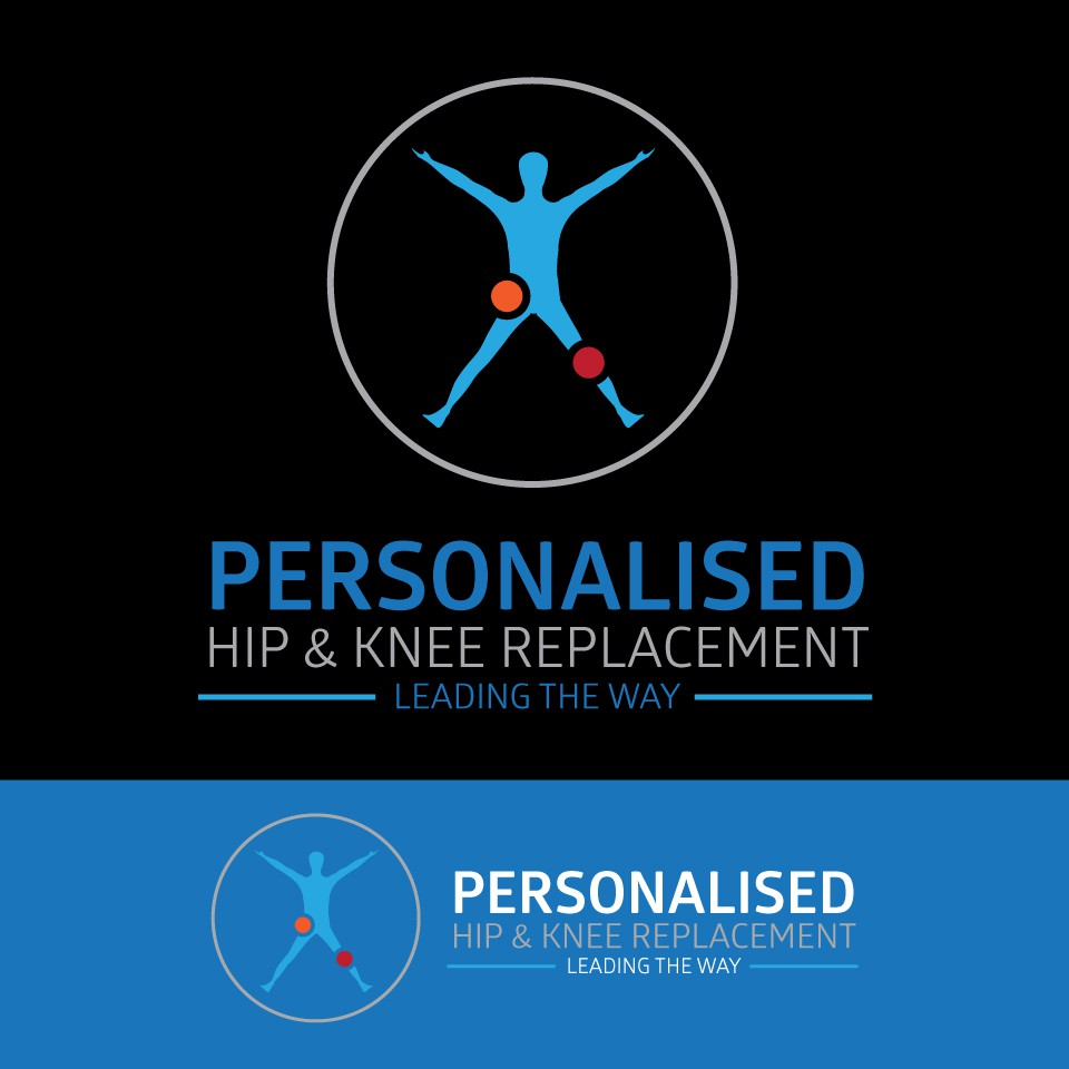 Design a state of the art logo for a hip & knee specialist surgeon