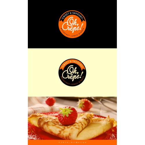 Create A Unique Logo For A Crêperie (Crêpe Restaurant)!