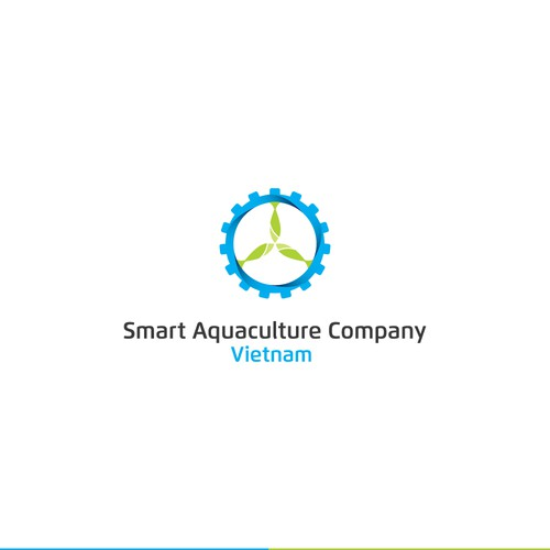 Logo idea for an aquaculture company