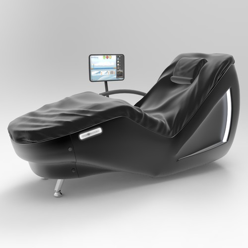3D model of HydroMassage lounge chair