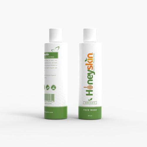 Honeyskin - Package Design
