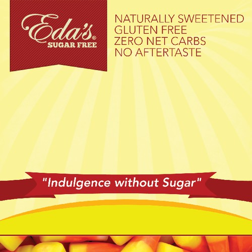 Create a great package for worlds best sugar free candy!