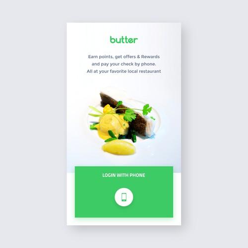 First shot for Butter