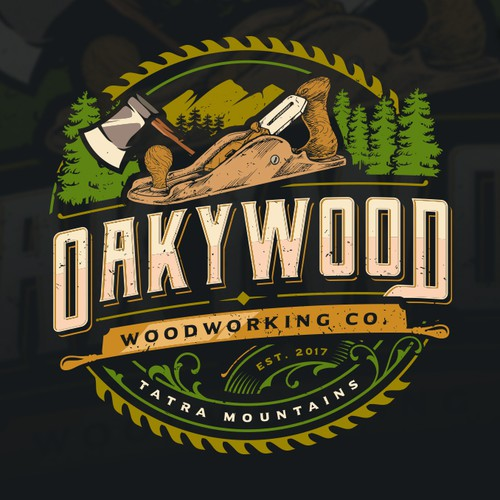 Oakywood Tshirt Design