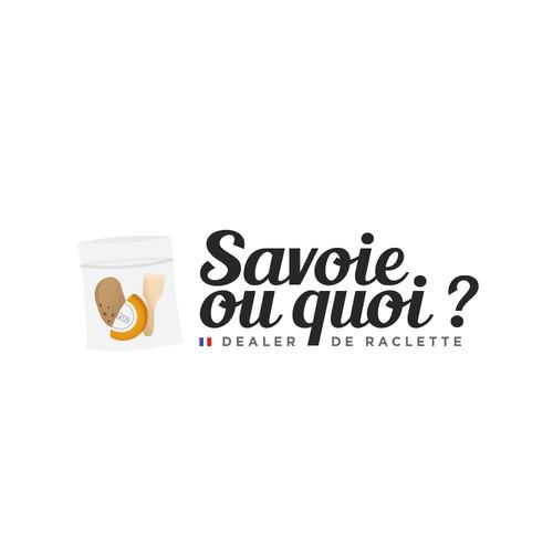 Raclette logo design