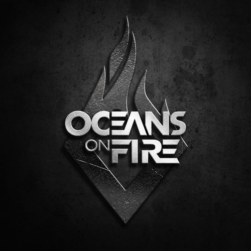 OCEANS ON FIRE LOGO DESIGN