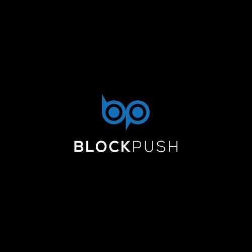 BlockPush logo Concept