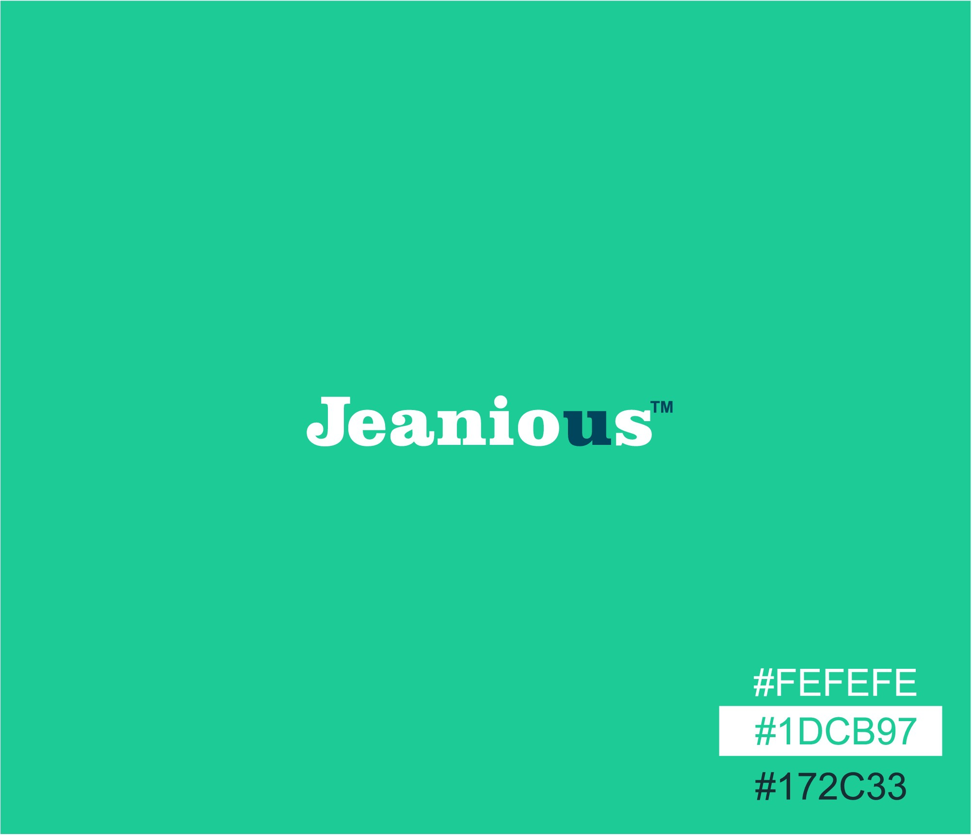 Create awesome, Vintage logo for Jeanious Inc.