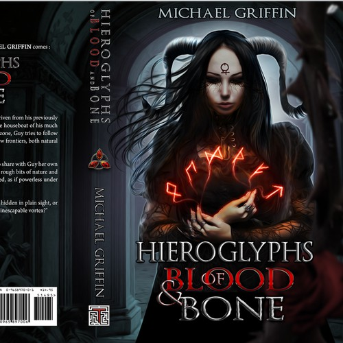 Dark fantasy book cover