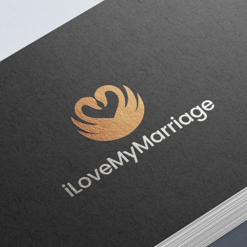Logo for a marriage brand